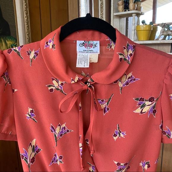 Vintage Dresses & Skirts - Exquisite Vintage Lanz Floral Dress NWOT